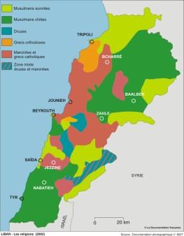 Liban- Les religions (2002)